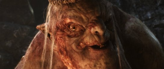The Goblin King in The Hobbit: An Unexpected Journey
